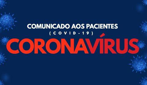 COMUNICADO CORONAVÍRUS – COVID-19